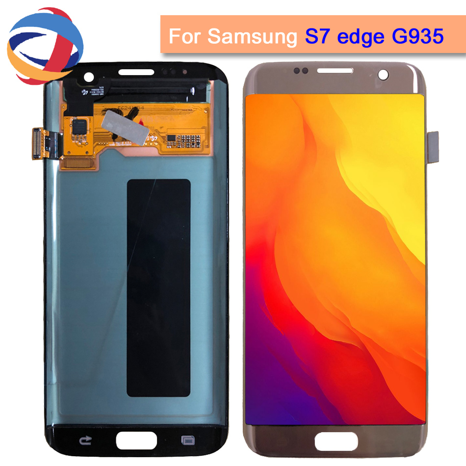 Tested Lcd For SAMSUNG GALAXY S7 EDGE LCD Display Touch Screen Digitizer Assembly For Samsung S7 Edge G935 G935F LCDTested Lcd For SAMSUNG GALAXY S7 EDGE LCD Display Touch Screen Digitizer Assembly For Samsung S7 Edge G935 G935F LCD