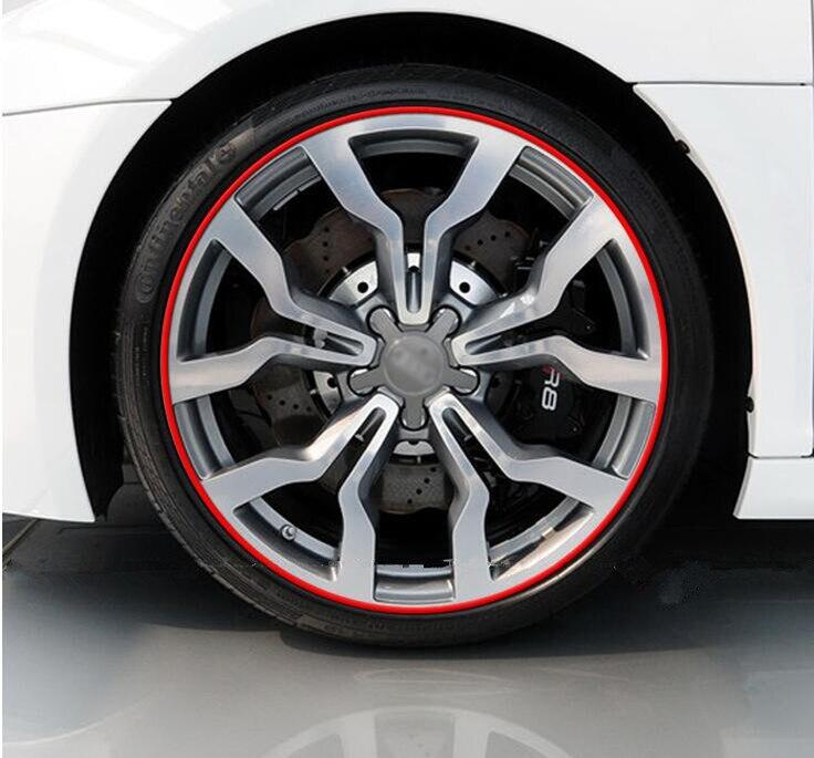 8M Car Wheel Hub TRIM Mouldings Stripe For Vauxhall Opel Astra G/GTC/J/H Corsa Antara Meriva Zafira sticker Accessories