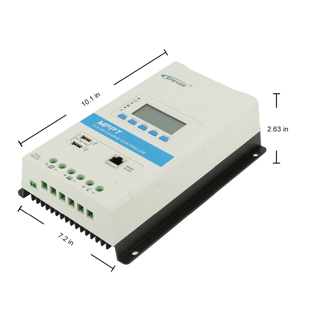 epever triron2210n 20a mppt controlador de carga 04