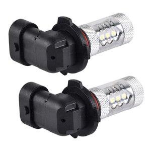 Image 5 - NICECNC H10 Super White LED Headlight Bulb Car DRL Fog Light For Can Am ATV Can Am Maverick Commander Outlander Spyder Renegade