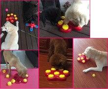 Бесплатная Доставка Кошка Собака Чаши Новых Товаров Для Домашних Животных Для Домашних Животных развивающие Игрушки Прятки Запах, Чтобы Найти Пищу Коробки Обучение чувства
