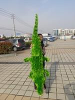 Огромный большой Крокодил плюшевые игрушки чучело крокодила Подушка подарок на день рождения около 200 см