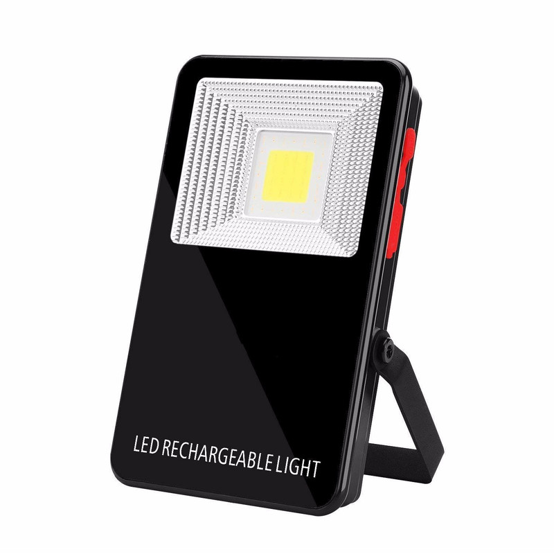 LED Mobile Power Bank Flashlight USB Port Chargeable Flashlight COB Emergency Work Light Floodlights Home Outdoor Portable Torch multi function cob solar flashlight usb power bank lampe torche led emergency escape fire hammer torch light for auto car