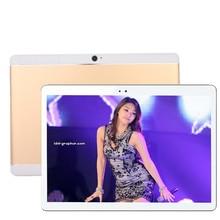 La entrega libre 10 pulgadas Octa Core 4G LTE smartphone Tablet pc 4G RAM 64G ROM 1920*1200 HD del Androide 7.0 WIFI bluetooth GPS tabletas