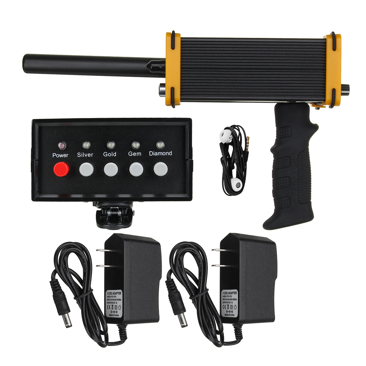 30m Under ground Metal Detector machine hunting metal detector Gold Diamond Silver Equipment with Waterproof Packing Box under ground gold scanner machine with deep earth gold scanner