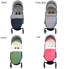 Baby Carriage Warm Footmuff Winter Sleeping Bag Reveal Feet Windproof Bilateral Zipper For Yoyo Bugaboo Stroller Accessories цена