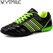 Cleats Turf Soft Sole Leather Kids Sneakers Boys Soccer Shoes Children Football Shoes Boy Trainers Shoes Sports Foot Footwear