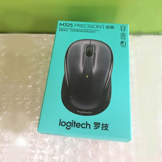 Logitech M325 Wireless Gaming Mouse with Nano Receiver