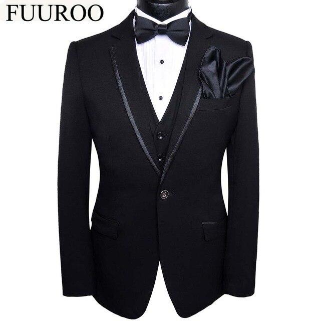 (Jacket+Pants+Vest+BowTie+Square) Men Suits 2016 5pcs Set Tuxedo Costume Homme Terno Prom Wedding Suits For Men CBJ-T0014