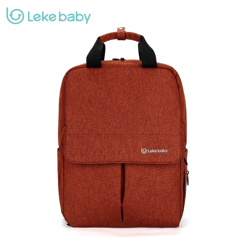 LEKEBABY Baby Diaper Bag Backpack Baby Bags Nappy Bags Mummy Changing Mom Tote Wet Bag Organizer Waterproof promotion diaper bags organizer storage mummy bags for mom baby bottle multifunctional