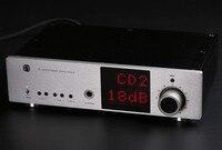 Sala de música Más Reciente de Música Hi-End de Una Sola terminal Amplificador de Auriculares Hi-fi XLR/RCA Control de Ganancia del Amplificador