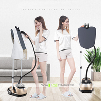 2017 Hot Sale Household Professional Dual Bar Garment Steamer With 6 Steam Level 1 8L Water