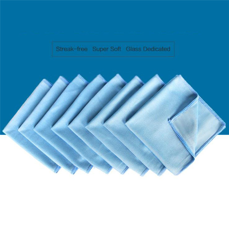 30cmx30cm 1pcs  Window Polishing Absorbent Windshield Cloth Car Cleaning Microfiber Glass Towel Cloth Towels Wash