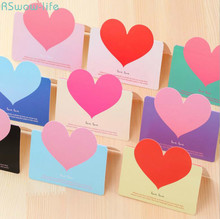 Creative Universal Love Greeting Card Valentines Day Party Gifts Childrens Cards Festival Supplies