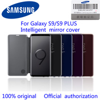 SAMSUNG Original Mirror Cover Clear View Smart Cover Phone Case For Samsung Galaxy S9 S9 Plus