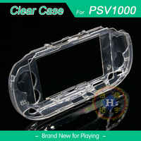 Protective Clear Crystal Hard Carry Guard Case Cover Skin for Sony PS Vita PSV 1001 PSV1000 PSV 1101