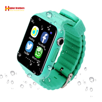 Smart Kids Child Watch Baby Safe Smartwatch GPS LBS Location Tracker Remote Camera Monitor with SIM TF Whatsapp Facebook Device