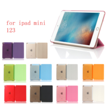 New Tablet Case For ipad Mini 1 2 3  PU Ultra Slim Magnet Sleep wake up Smart Cover Shell For iPad  mini1 2 3 case for new ipad 9 7 2017 2018 6th for air 1 sleep wake up magnet smart case ultra slim original 1 1 tablet leather ycjoyzw