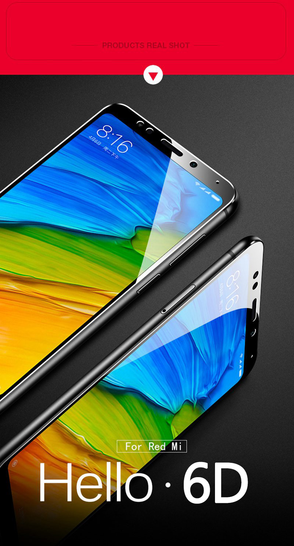 6D en vidrio para Xiaomi 7