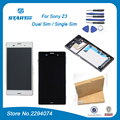 Display for Sony Xperia Z3 Dual Z3 D6633 D6603 D6653 LCD Display Touch Screen + Digitizer Assembly with frame +Tools