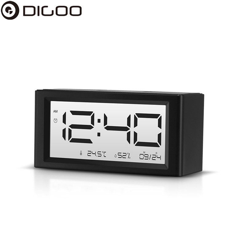 Digoo DG-C4S Calendar LED Alarm Clocks Snooze Function Alarm Temperature Humidity LED Display Desktop Digital Table Clocks clocks