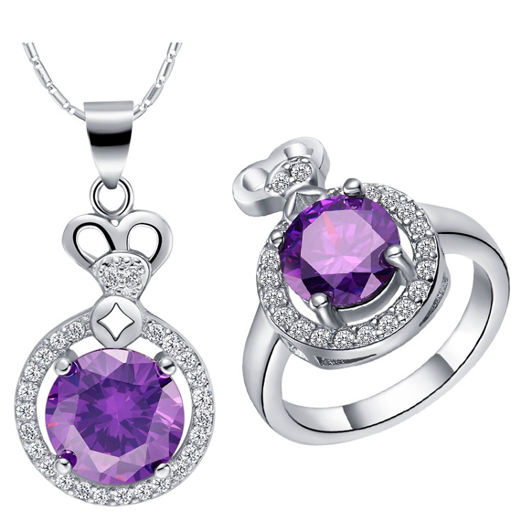 Online buy wholesale amethyst costume jewelry from china for Cheap fake jewelry online