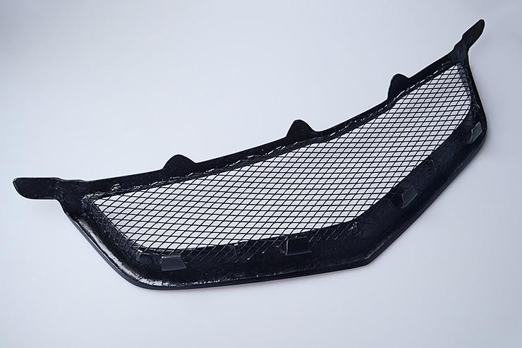 Grille de voiture calandre pour HONDA ACCORD CL7 grille de course en fibre de carbone