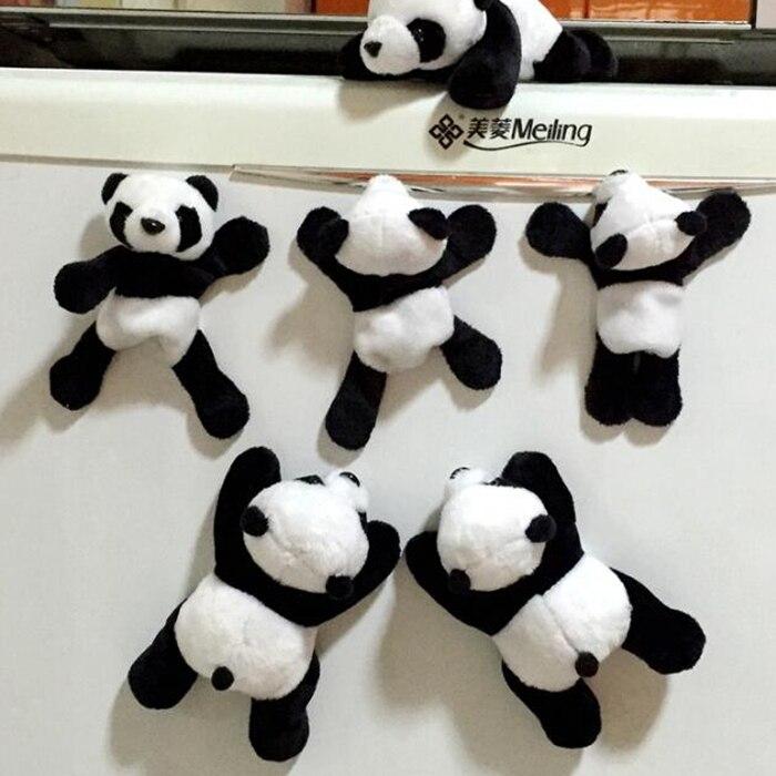 Leuke Panda Speelgoed Pluche Gevulde Doll Speelgoed Magneet Baby Poppen Geschenken Superieure Prestatie