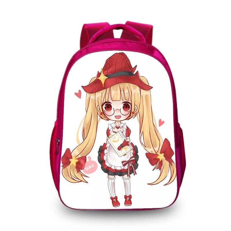 Baobeiku 3D Рюкзаки модный принт характер Сумки для детей школьная ноутбук животных дети рюкзак дропшиппинг