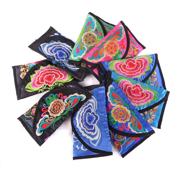 New Day Clutches bag!new  double-sided embroidery change bag hand bag embroidered cover characteristics of small zero Purse suzhou hand embroidery sided embroidery chinese style embroidery fan series of paintings decorative painting features