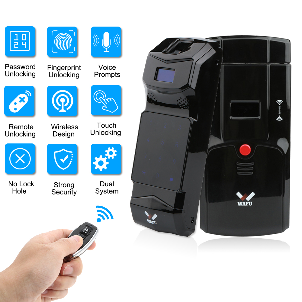New Arrival Keyless Entry Electronic Remote Indoor Touched