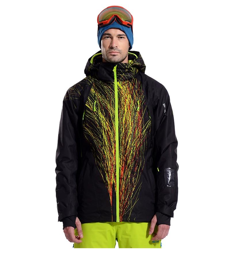 Pelliot marque hommes veste de ski témoin chaleur thermique snowboard veste respirante grande taille veste de sport pour camping neige - 2