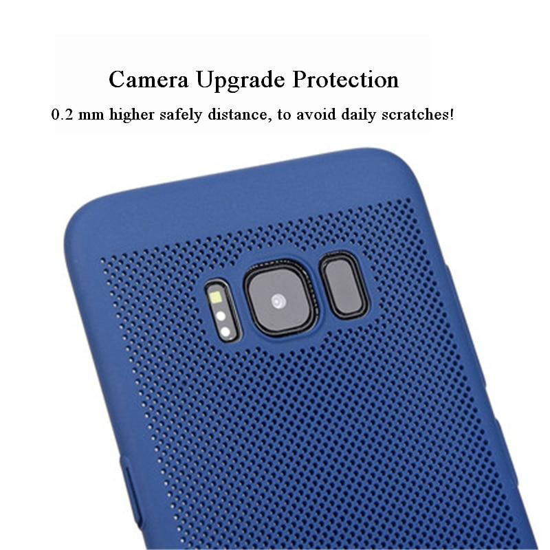 SHYPHIXV Kotak Bernapas Kembali Tutup Kasus Untuk Samsung Galaxy S8 - Aksesori dan suku cadang ponsel - Foto 3