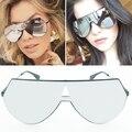 2017 new espelho óculos de marca óculos de sol das mulheres óculos de sol da moda retro marca designer lentes integrante do punk óculos de sol com caixa