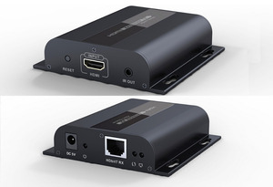 Image 1 - Hasta 120m con IR,LKV383 HDbitT HDMI 1080P extensor LAN repetidor sobre RJ45 Cat5e/Cat6, Envío Gratis