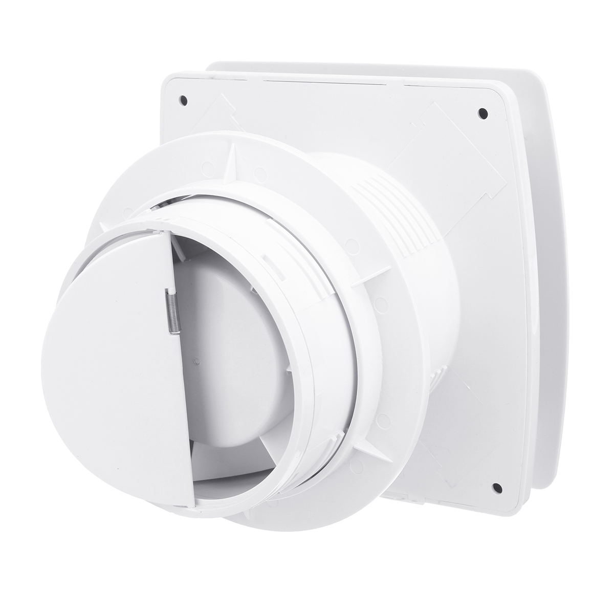 Latest Collection Of 4 220v 25w Exhaust Fan Window-type Silent Wall Extractor Air Vents Fan Window Bathroom Kitchen Toilet Ventilation Fan Be Friendly In Use Small Air Conditioning Appliances