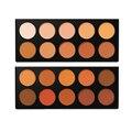 BH Foundation & Concealer Palette For Face Makeup 10 Colors Brand Concealer Base Professional Contour Powder Palette Cosmetic