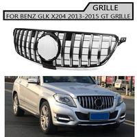 x204 Grille silver Emblem Front Bumper gt gtr Grill For benz x204 glk 2013 2015