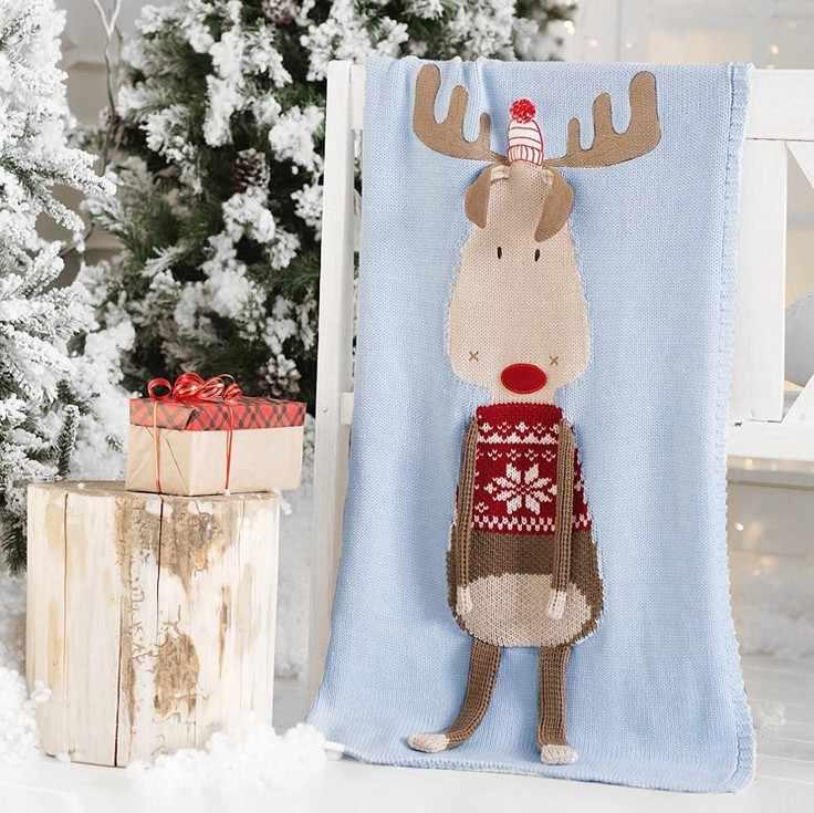 60 センチメートル * 120 センチメートル漫画フラミンゴ鹿ユニコーン動物かわいいベビースローブランケットソファベッド旅行毛布ウール糸毛布子供のギフト