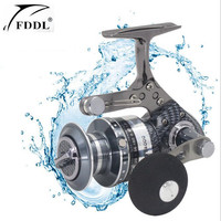Can Pull The Car Snake Pattern Fishing Wheel 5 2 Axis Full Metal Fishing Reel Ball