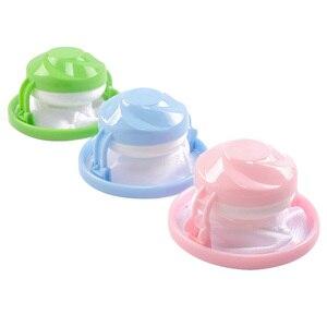 Image 1 - 3 uds. Atrapador de piel flotante para mascotas herramienta reutilizable removedor de pelo para lavadora LBShipping