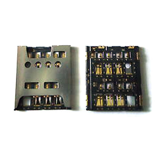 Sim Reader Card Holder Connector Slots Replacement For Sony Xperia Acro S LT26W Sim Parts New In Stock ...