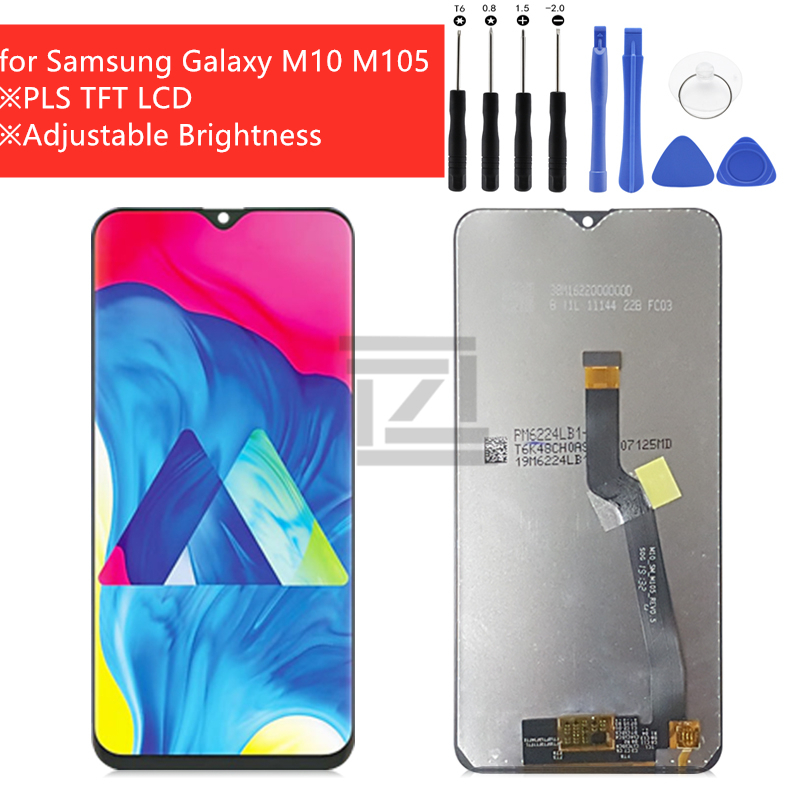 "for Samsung Galaxy M10 LCD Display Touch Screen Digitizer Assembly LCD digitizer +tools Repair parts 6.22""(China)"