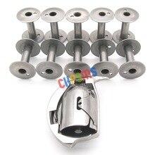 HAD 204 SHUTTLE HOOK & 10 Uds bobinas aptas para CONSEW 754 756 757 Durkopp ADLER 204, 205, 266, 366