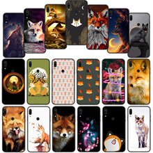 Cute Fox In Autumn forest Soft Cover Case for Xiaom