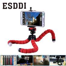 Mini Flexible Sponge Octopus Tripod Support Gripping Stand For Gopro Camera Phone Photograph Tripod Accessories With Phone Clip(China)