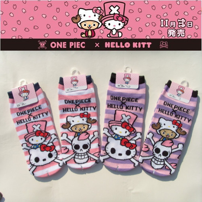 Hello Kitty One Piece Women   Socks   Girls   Sock   Cotton Children   Socks   Girl Hello Kitty Funny   Socks   Cartoon Kawayi Cute Small Cotton