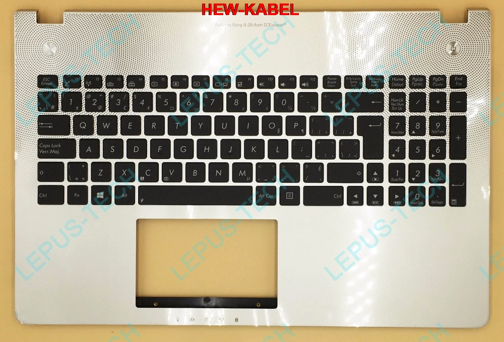 CF Canadian French Keyboard Backlight For ASUS N56 N56VB N56VJ N56VM N56VZ Top Cover Upper Case Palmrest 90NB03Z1-R31CB0 SilverCF Canadian French Keyboard Backlight For ASUS N56 N56VB N56VJ N56VM N56VZ Top Cover Upper Case Palmrest 90NB03Z1-R31CB0 Silver