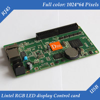 HD D30 asynchronous lintel led screen control card for lintel full color led display