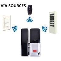 Прямая завод RFID клавиатуры дистанционного Управление кнопка выхода Беспроводной 433 мГц доступа Управление комплект Беспроводной Электрич